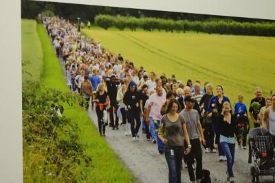 テロ後の追悼行進