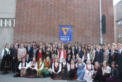 ノルウェーの大学です!