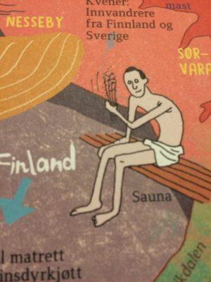 ノルウェー人が描くフィンランド人